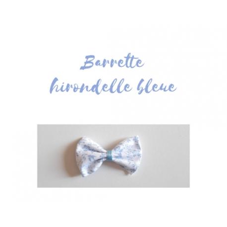 barrette hirondelle bleue