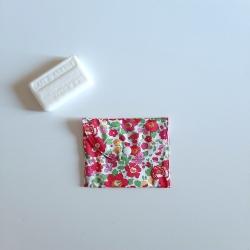 pochette à savon betsy rouge