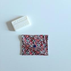 pochette à savon betsy ann rouge
